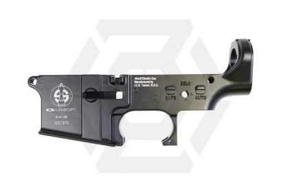 ICS Metal Lower Receiver for ICS M4 Series - ICS Logo