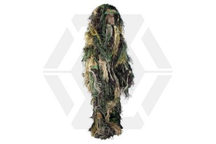 Highlander Kids Ghillie Suit (Woodland) - Size Large
