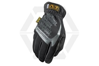 Mechanix Covert Fast Fit Gloves (Black/Grey) - Size Extra Large