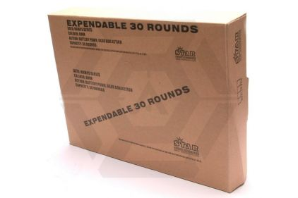 Ares Expendable AEG Mag for PM5 30rds (Box of 10) © Copyright Zero One Airsoft
