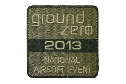 Ground Zero NAE 2013 Velcro Patch (Olive)