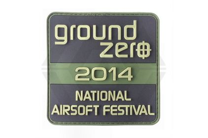 Ground Zero NAE 2014 PVC Velcro Patch (Olive)