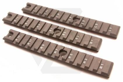 Guarder G36C Side Rails (Long x3)