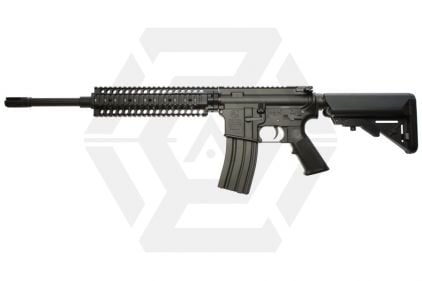 Tokyo Marui Recoil AEG M4 Recce Rifle (Black)