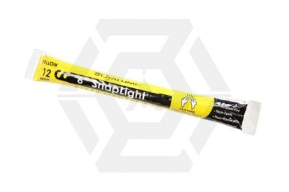 "Cyalume 6"" 12 Hour Lightstick (Yellow)"