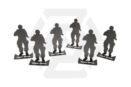 EB Aluminium Silhouette Target Set
