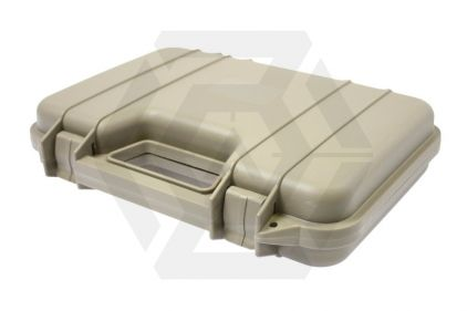 Zero One Rugged Pistol Carry Case 32cm (Tan) © Copyright Zero One Airsoft