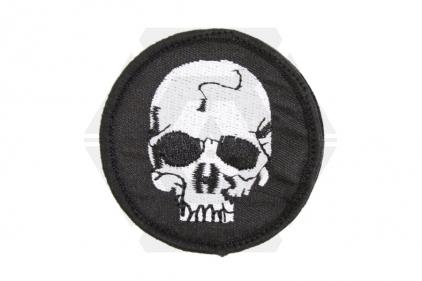 "EB Velcro Patch ""Classic Skull"""