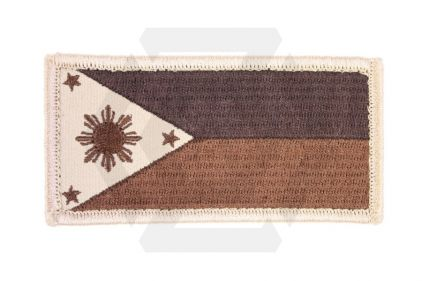 Philippines Velcro Patch (Tan)