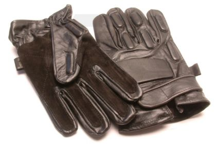 Mil-Force Full Finger SWAT Gloves (Black) - Size Extra Large