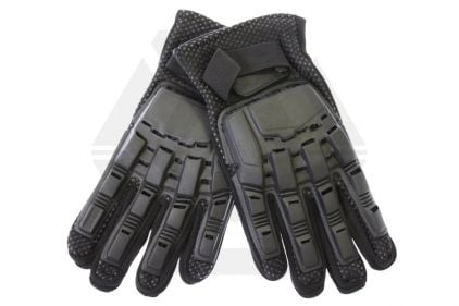 Mil-Force Full Finger RPD Gloves (Black) - Size Large © Copyright Zero One Airsoft