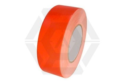 Zero One Fabric Tape Fluorescent 48mm x 22m (Orange)