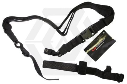 Guarder 3-Point Tactical Sling (Black) © Copyright Zero One Airsoft
