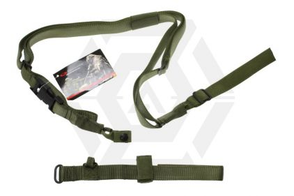 Guarder 3-Point Tactical Sling (Green) © Copyright Zero One Airsoft