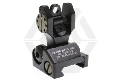 Ares Troy Type Rear Sight (Black)