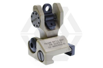 Ares Troy Type Rear Sight (Tan)