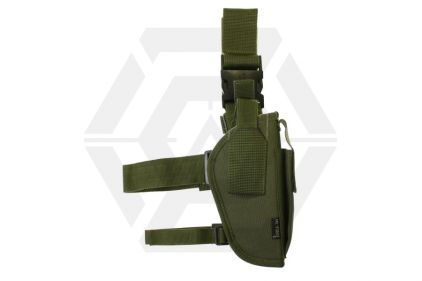 Mil-Force Tactical Drop Leg Thigh Holster, Right Handed (Olive) © Copyright Zero One Airsoft