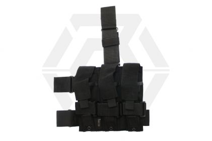 Mil-Force Drop Leg Multi Magazine Pouch for 3x PM5 (Black)