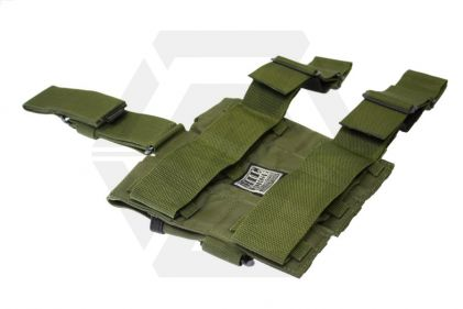 Mil-Force Drop Leg Multi Magazine Pouch for 3x PM5 (Olive)