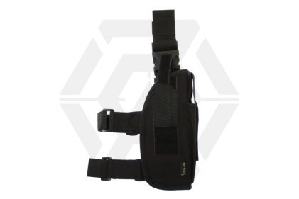 Mil-Force Medium Drop Leg Thigh Holster, Right Handed (Black) © Copyright Zero One Airsoft