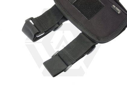 Mil-Force Medium Drop Leg Thigh Holster, Right Handed (Black)