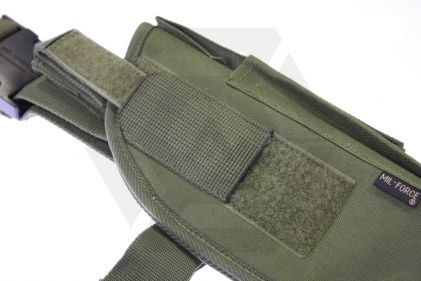 Mil-Force Medium Drop Leg Thigh Holster, Right Handed (Olive)