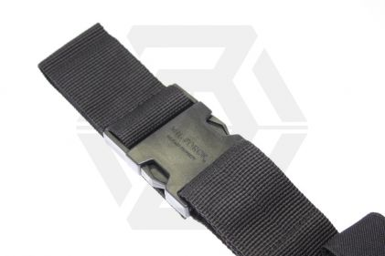 Mil-Force Drop Leg Multi Magazine Pouch for 2x Pistol & 2x PM5 (Black)