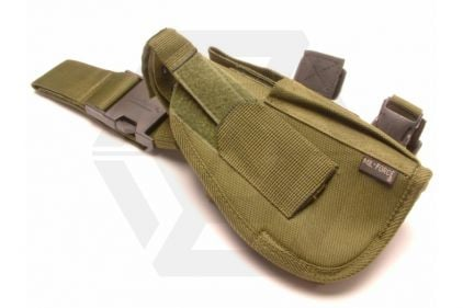 Mil-Force Tactical Drop Leg Thigh Holster for Medium Laser Aided Pistols, Right Handed (Olive)