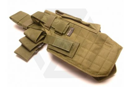 Mil-Force Extra Large Drop Leg Thigh Holster, Right Handed (Olive)