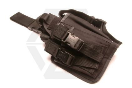 Mil-Force Special Forces Drop Leg Thigh Holster, Right Handed (Black)