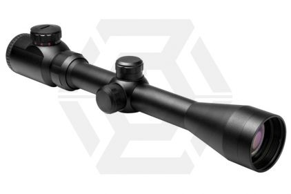 NCS 3-9x40 Red/Green Illuminating Scope with P4 Sniper Reticule & 20mm Mount Rings