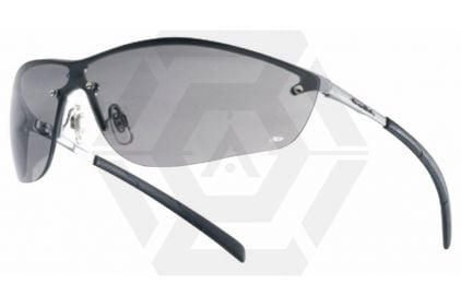 Bollé Protection Glasses Silium with Silver Frame and Smoke Lens