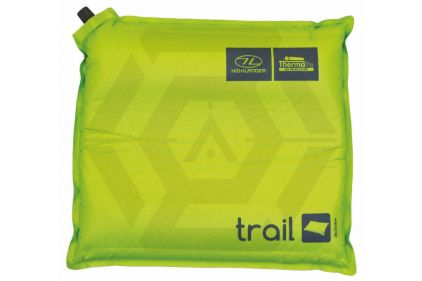 Highlander Self Inflating Pillow - Trail (Lime)