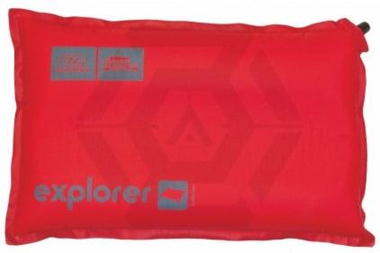 Highlander Self Inflating Pillow - Explorer (Red)