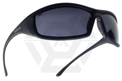 Bollé Protection Glasses Solis with Black Frame and Smoke Lens