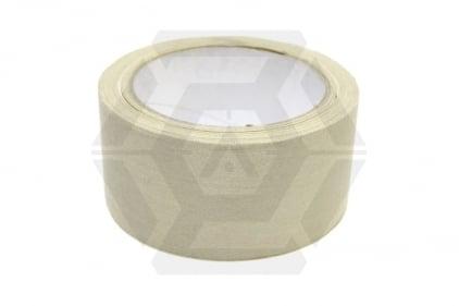 Zero One Fabric Tape 50mm x 12m (Tan)