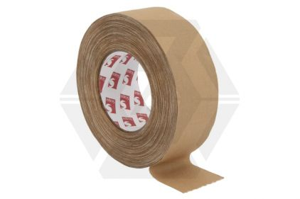 Zero One Fabric Tape 50mm x 50m (Tan)
