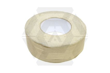 *Clearance* Fabric Tape 50mm x 50m (Tan)