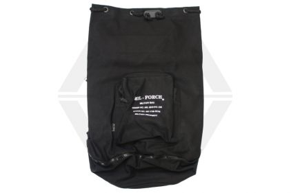Mil-Force Large Military Duffle Bag (Black)