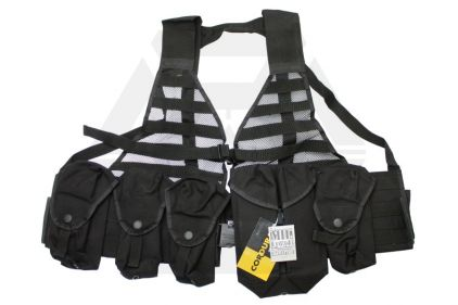 Mil-Force NYPD Tactical Vest (Black)