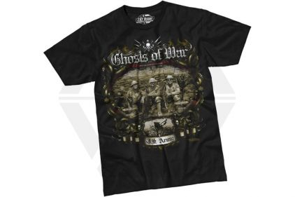 7.62 Design T-Shirt 'Ghosts of War' (Black) - Size Extra Large