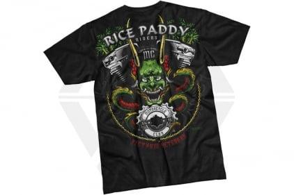 7.62 Design T-Shirt 'Rice Paddy Riders' (Black) - Size Medium
