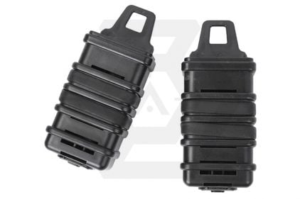 FMA MOLLE PM7 Fast Magazine Pouch - Set of 2 (Black)