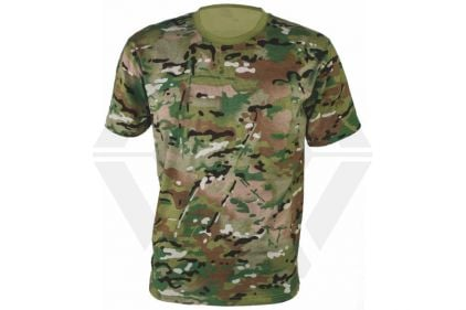 "Highlander Kids T-Shirt (Multicam) - Size 9/10 (32"")"