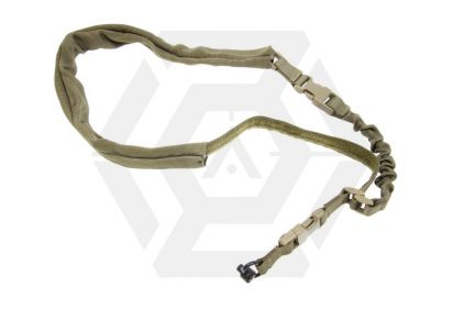 TMC Single Point Bungee Sling with QR Sling Swivel (Khaki)