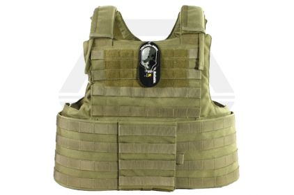TMC MOLLE CIR Force Recon Vest (Khaki)