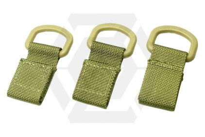 TMC MOLLE Shackle Set of 3 (Khaki)