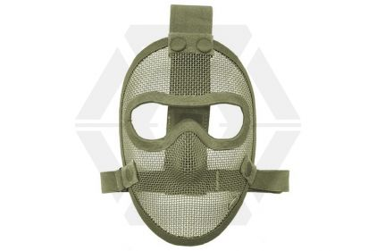 TMC Razor Mesh Full Face Mask (Olive) © Copyright Zero One Airsoft