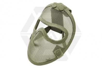 TMC Razor Mesh Full Face Mask (Olive)