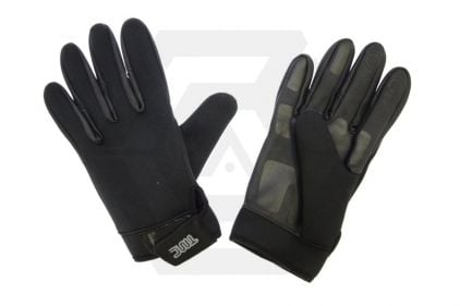 TMC Neoprene Patrol Gloves (Black) - Size Large